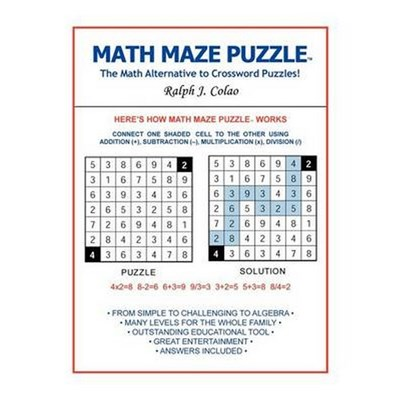 Math Maze Puzzle   The Math Alternative to Crossword Puzzle! by Colao, Ralph J.