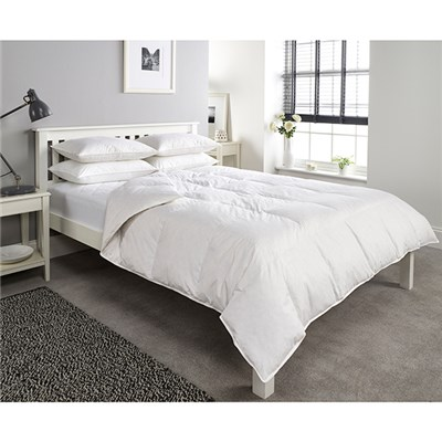 Downland Anti-Allergy 10.5 Tog Goose Feather and Down Super King Duvet