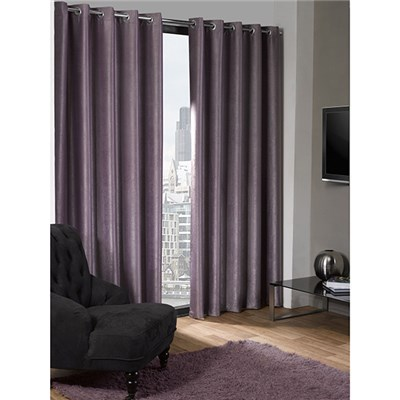 Logan Eyelet Blackout Curtains - 90 Inches