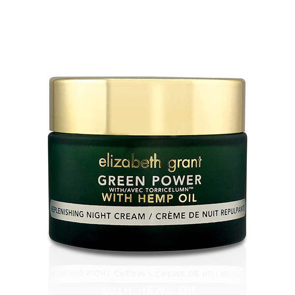 Elizabeth Grant Green Power Replenishing Night Cream with Hemp Oil 50ml No Colour