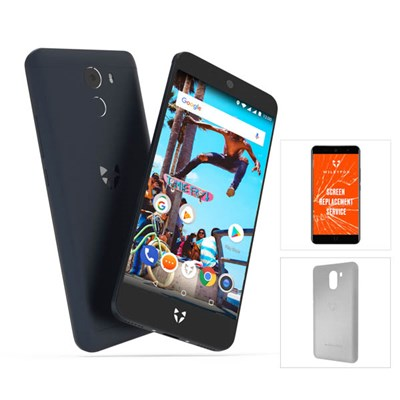 Wileyfox Swift 2X 5.2inch HD Display Smartphone plus Protective Case and Screen Replacement Guarantee