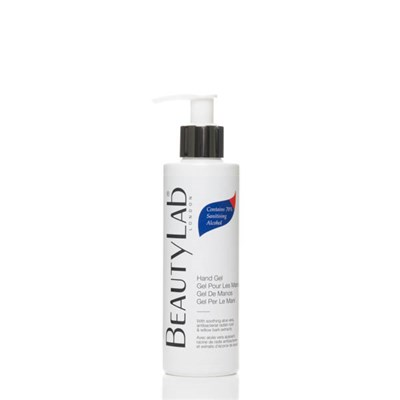 BeautyLab Hand Gel with 70% Sanitising Alcohol and Aloe Vera 200ml