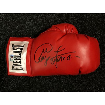 George Foreman Personally Signed Boxing Glove