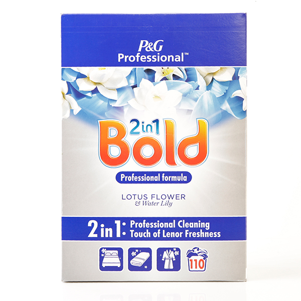 Bold 2in1 Professional Powder Detergent - Lotus Flower 'n' Water Lily No Colour