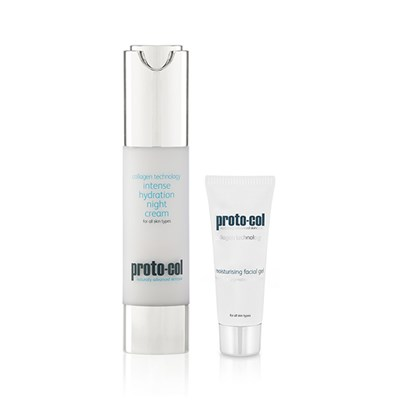 Proto-col Night Cream 50ml with Facial Gel 20ml