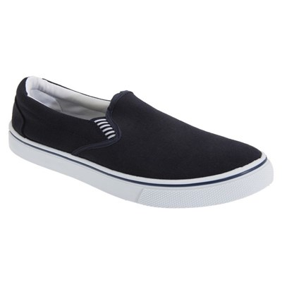 Dek Mens Gusset Casual Canvas Yachting Shoes