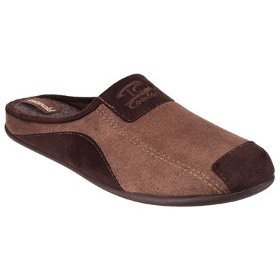 Cotswold Mens Westwell Slip On Mule Slippers