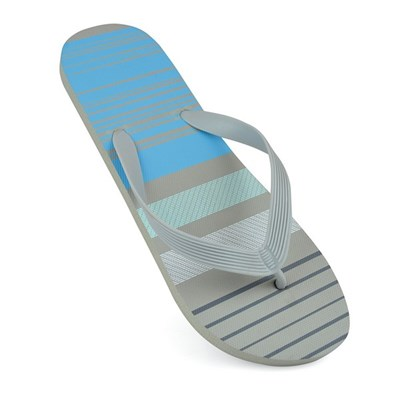 Sandrocks Mens Striped Flip Flops
