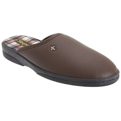 Sleepers Mens Dwight Outdoor Sole Mule Slippers