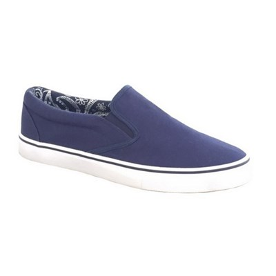 Dek Mens Canvas Casual Shoe Trainer Pump