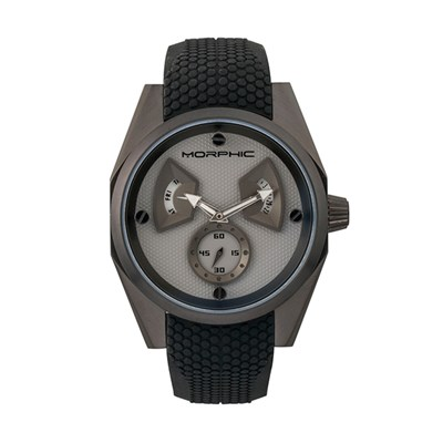 Morphic Gents M34 Series Watch with Silicone Strap
