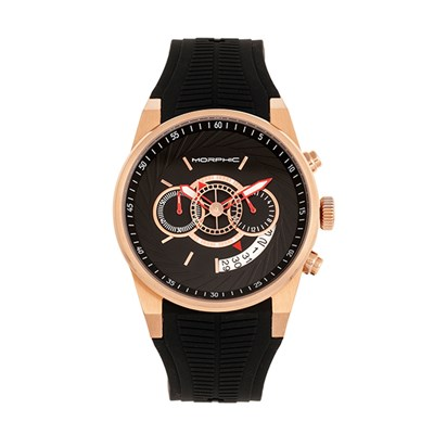 Morphic Gents M72 Series Watch with Silicone Strap