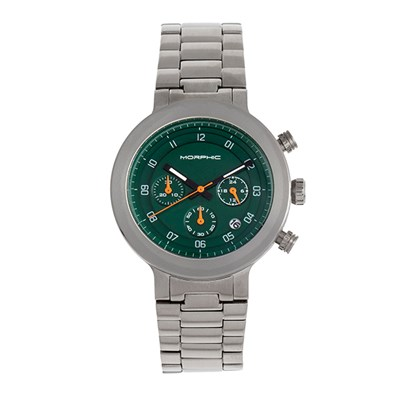 Morphic Gents M78 Series Watch with Stainless Steel Bracelet