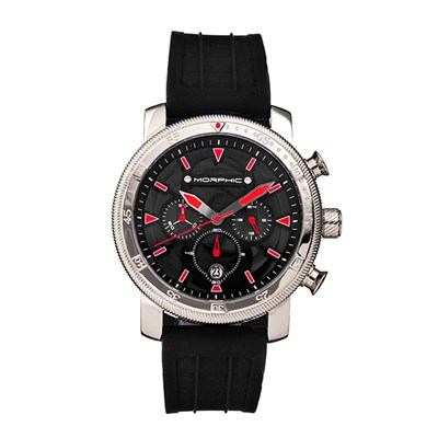 Morphic Gents M90 Series Watch with Silicone Strap