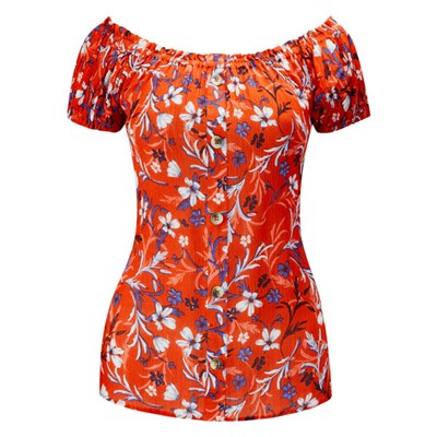 Joe Browns Floral Gypsy Top