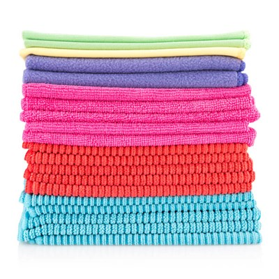 Mixed Pack of Microfibre Cloths - Pack of 20