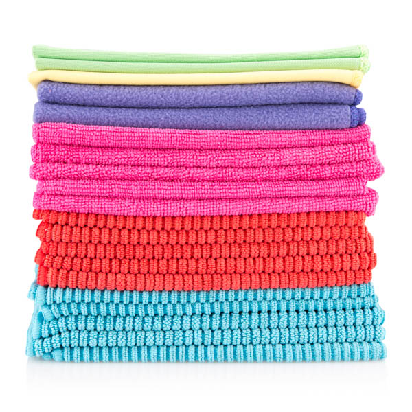 Mixed Pack of Microfibre Cloths - Pack of 20 No Colour