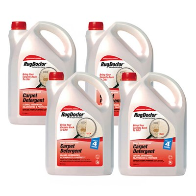 Rug Doctor 4 x 2L Carpet Solution
