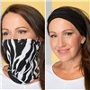 2 Pack 3-in-1 Print and Plain Snood