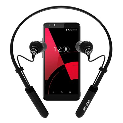 ROKiT IO 3D Smartphone plus ROKiT Buds Bluetooth Headset