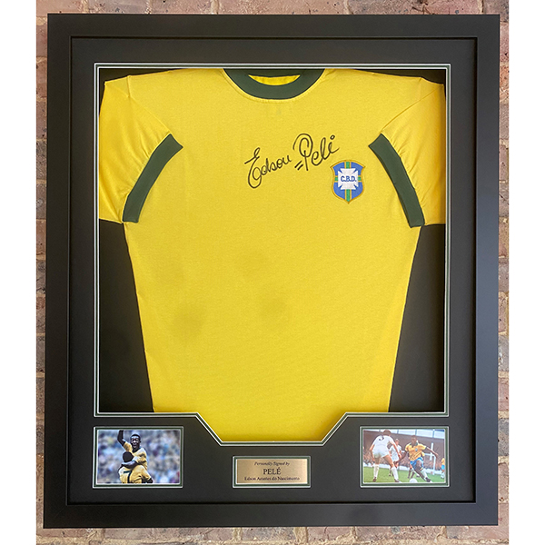 Pele Signed Shirt No Colour