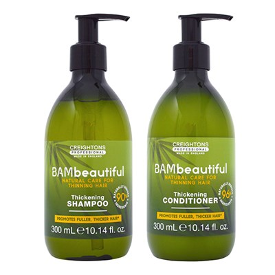 BAMbeautiful Thickening Shampoo 300ml & Conditioner 300ml