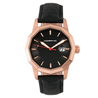 Morphic Gents M56 Series Watch on Genuine Leather Strap