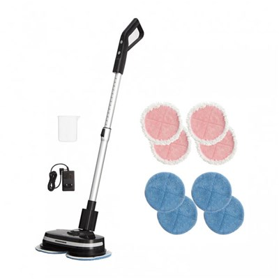 AirCraft PowerGlide Cordless Hard Floor Cleaner and Polisher with Additional Set of Microfibre Cleaning Pads
