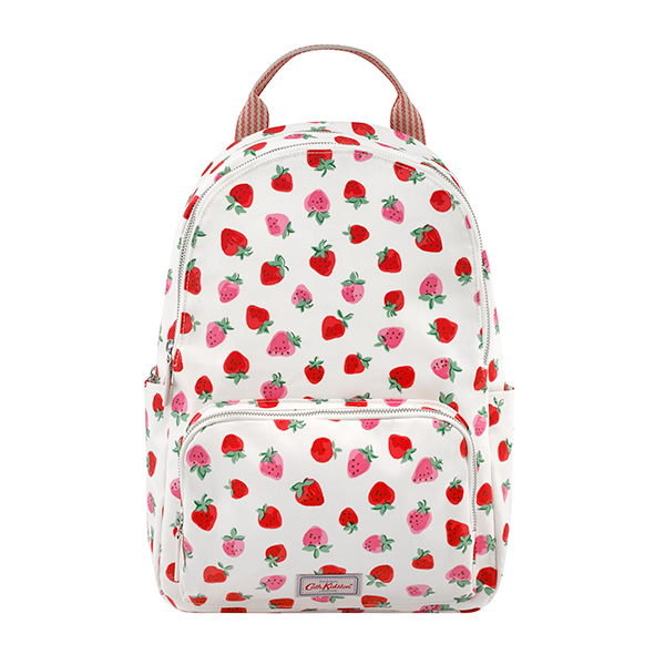 Cath Kidston Pocket Backpack Sweet Strawberry
