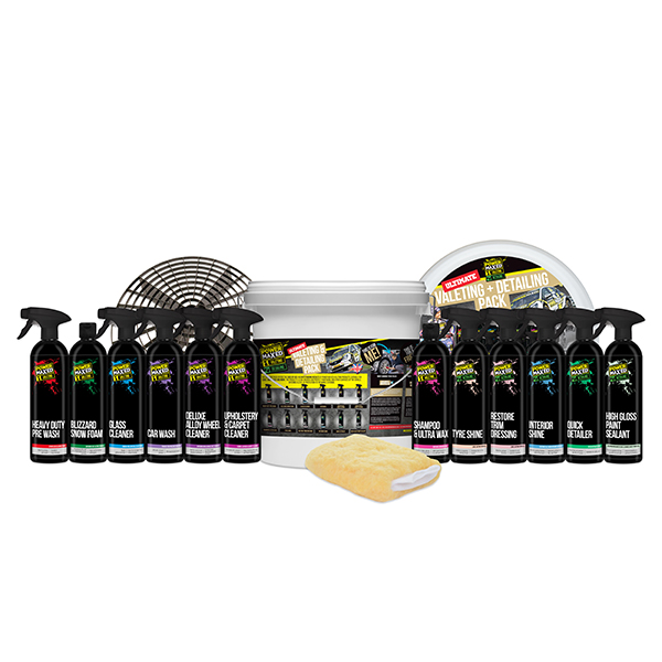 Power Maxed Ultimate Car Cleaning Kit 15-Piece Set No Colour