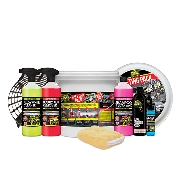 Power Maxed Car Cleaning Set No Colour