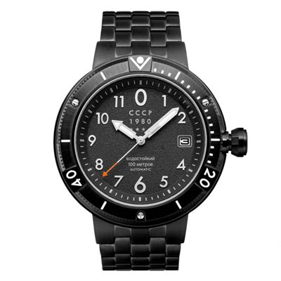 CCCP Gents Kashalot Submarine Automatic Watch on Stainless Steel Bracelet