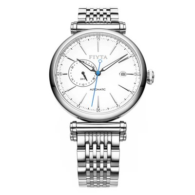 Fiyta Gents Automatic Date Watch on Stainless Steel Bracelet