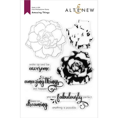 Altenew Amazing Things Layering Stamp Set