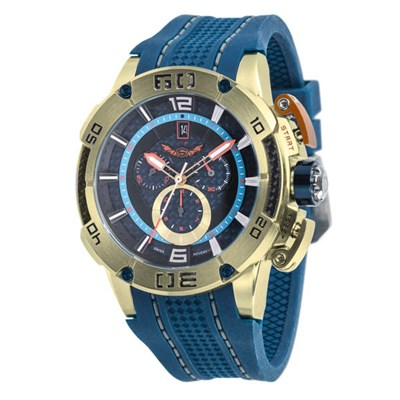 Infinity Swiss Gents Series 1001 Chronograph Watch on Silicone Strap