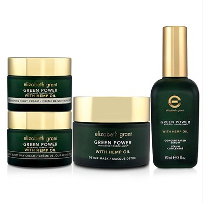 Elizabeth Grant Vitamin C Green Power with Hemp Oil 4pc Collection