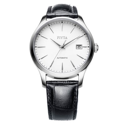 Fiyta Gents Classic Automatic Watch on Genuine Leather Strap