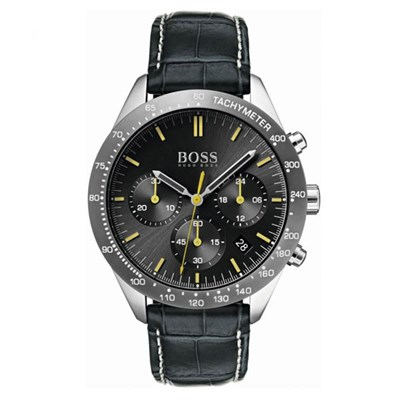 Hugo Boss Gents Talent Chronograph Watch with Genuine Leather Strap