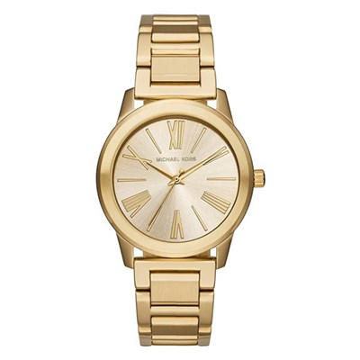 Michael Kors Ladies MK3490 Roman Numerals Watch with Stainless Steel Bracelet