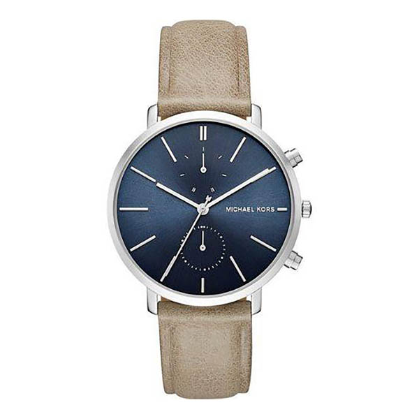 Michael Kors Gents MK8540 Jaryn Chronograph Watch with Genuine Leather Strap No Colour