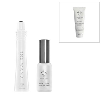 Crystal Clear Easy Lift Sonic Facial with Anti-Age Serum 25ml