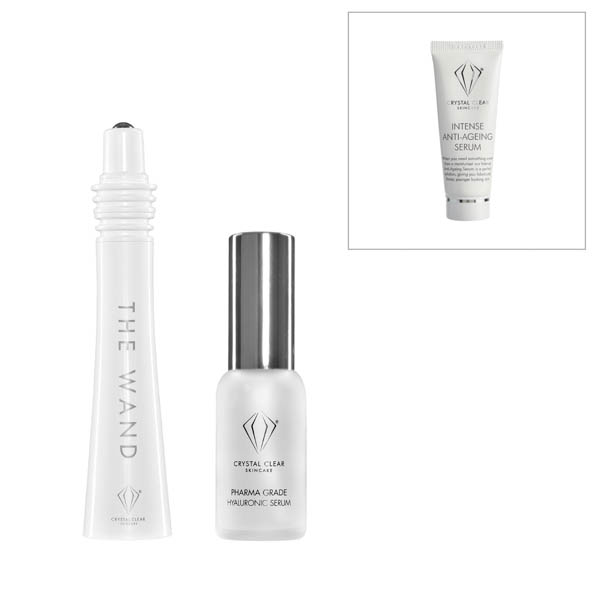 Image of Crystal Clear Easy Lift Sonic Facial with Anti-Age Serum 25ml