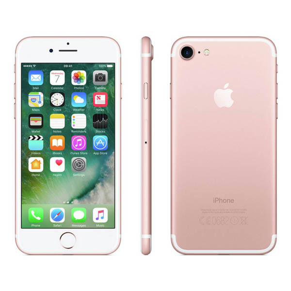 Apple iPhone 7 32GB Rose Gold - Grade A Refurbished No Colour