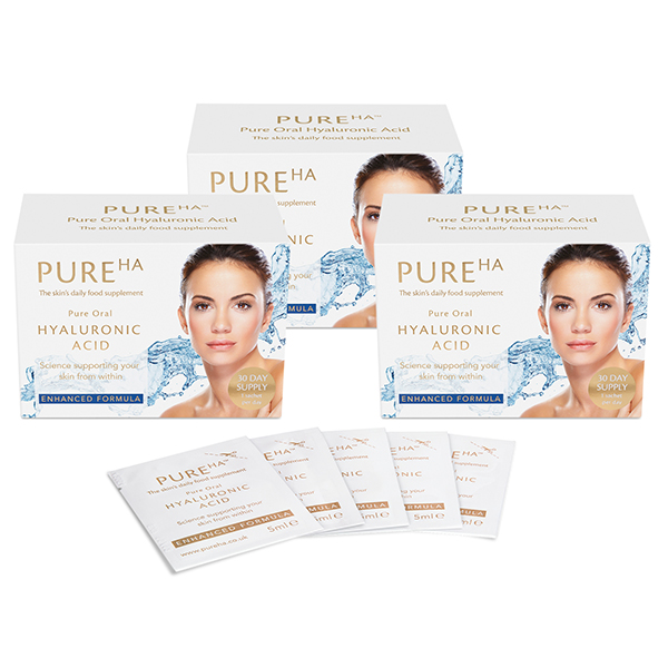 Skincare Pure HA Oral Hyaluronic Acid - 90-Day Supply