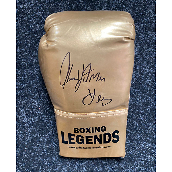 Tommy Hearns Hitman Personally Signed Boxing Glove 557362 Ideal World