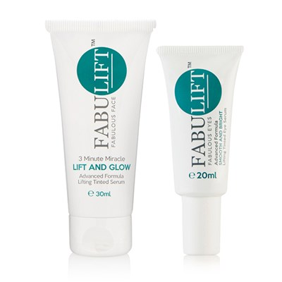 Fabulift Fabulous Tinted Eye Serum 20ml with Fabulous Face Tinted Serum 30ml