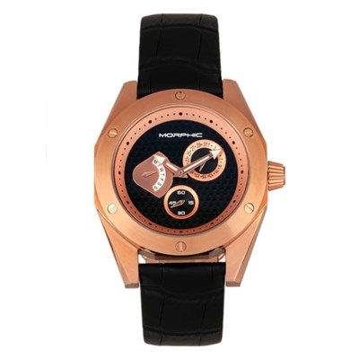 Morphic Gents M46 Series Watch on Genuine Leather Strap