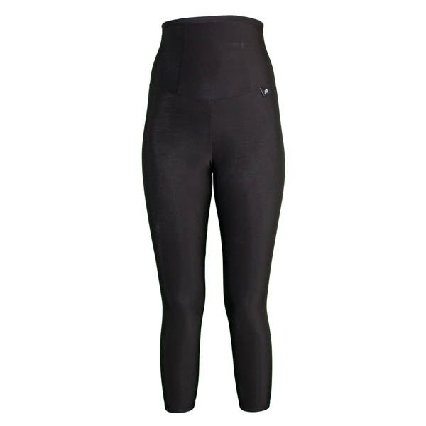 Slim and Shape by Proskins High Waisted Capri Leggings Black