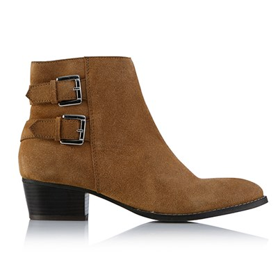 Leather Collection Steff Buckle Boots