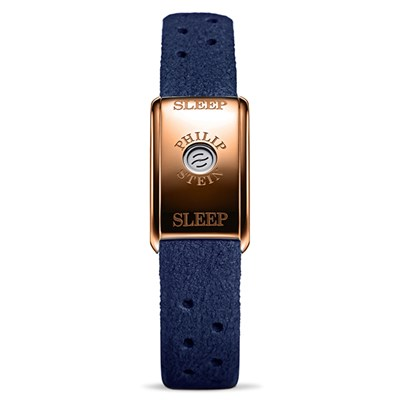 Philip Stein Classic Sleep Bracelet Rose Gold Case - Comes in Blue or Brown